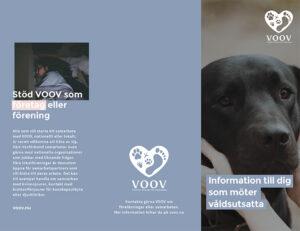 VOOV folder till dig som möter våldsutsatta sida 1